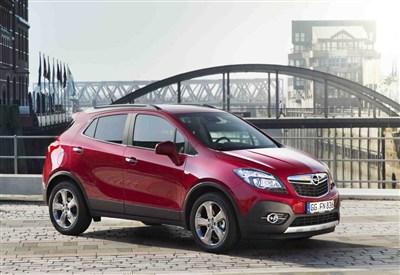 Cinque comodi posti per il nuovo Suv della Opel