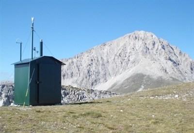 L'osservatorio climatico Portella al Gran Sasso