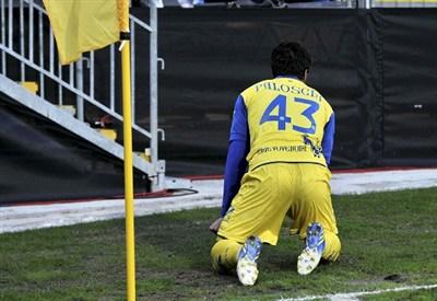 Alberto Paloschi, attaccante Chievo (Foto Infophoto)