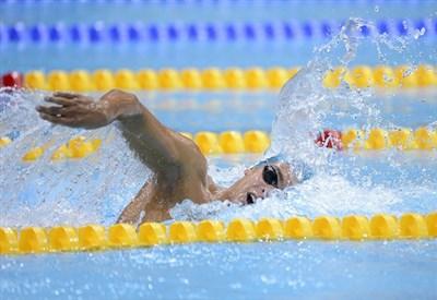 Gregorio Paltrinieri in azione (Infophoto)