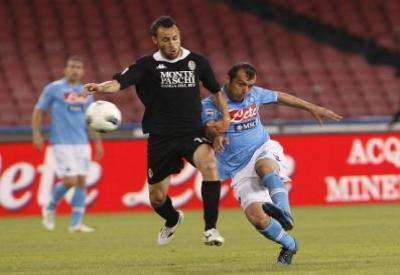 Goran Pandev, attaccante del Napoli (Foto Infophoto)