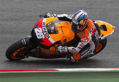 Dani Pedrosa, quarta pole position stagionale (Infophoto)