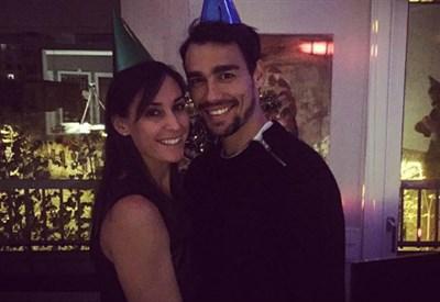 Flavia Pennetta, 32 anni, e Fabio Fognini, 27 (dall'account Instagram @flaviapennetta82)