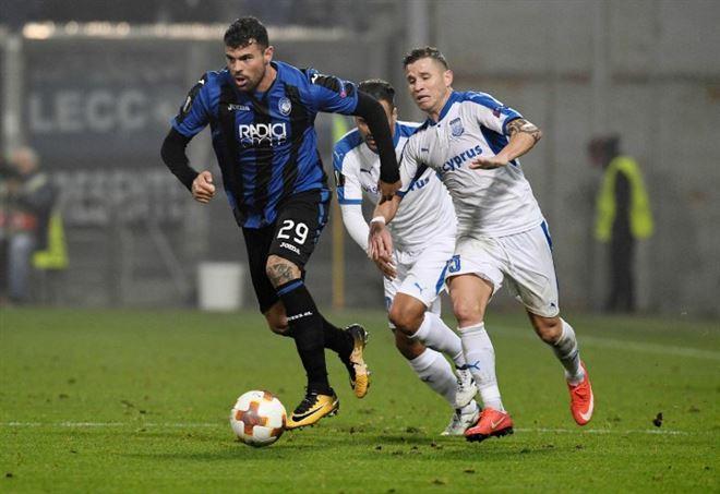 Atalanta super in Europa League (foto LaPresse)