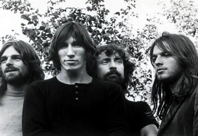 Il gruppo britannico Pink Floyd
