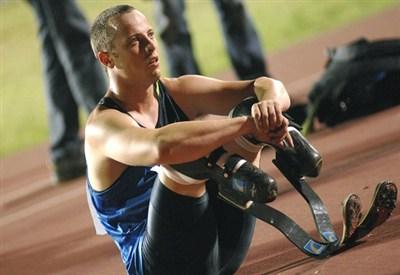 Oscar Pistorius, ex atleta olimpico (Infophoto)