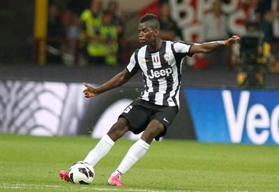 Paul Pogba, centrocampista della Juventus (Foto Infophoto)