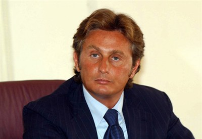 Daniele Pradè, ds della Fiorentina (Foto Infophoto)