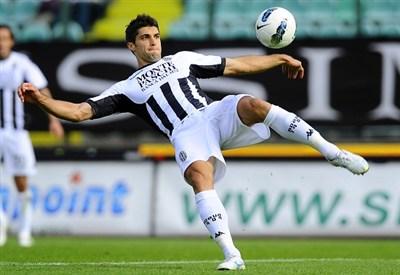 Luca Rossettini, uno dei migliori contro il Palermo (Infophoto)