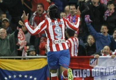 Radamel Falçao dell'Atletico (INFOPHOTO)