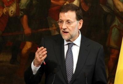Mariano Rajoy, premier Spagna (Infophoto)