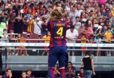 Ivan Rakitic (26 anni), uno dei nuovi acquisti del Barcellona (Infophoto)