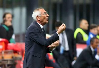 Edoardo Reja, 70 anni, allenatore dell'Atalanta (INFOPHOTO)