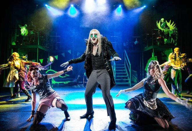 Una immagine dello spettacolo