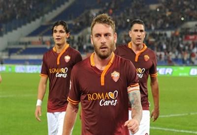 La Roma ha vinto 10 partite su 10 (Infophoto)