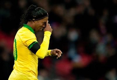 Ronaldinho, 32 anni, gioca nell'Atletico Mineiro (Infophoto)
