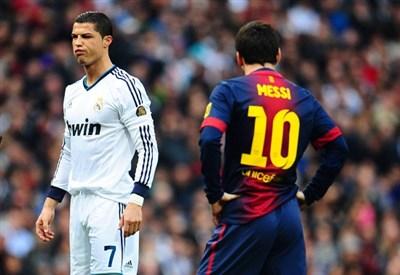 Cristiano Ronaldo e Leo Messi (Infophoto)