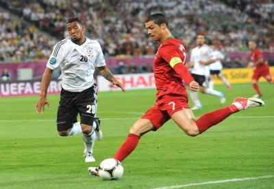 Cristiano Ronaldo, matchwinner del match (Infophoto)