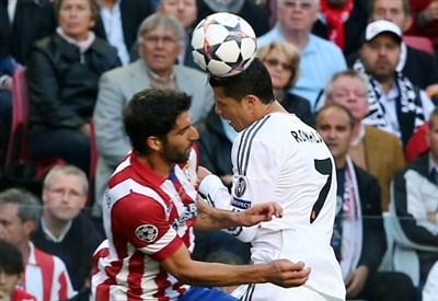 Un'immagine della finale di Champions League dello scorso maggio (Infophoto)