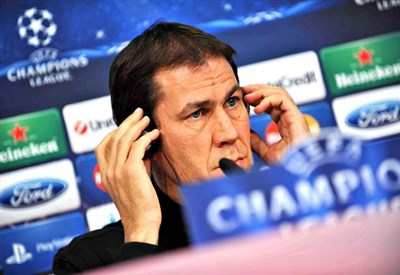 Rudi Garcia, allenatore della Roma (Foto Infophoto)