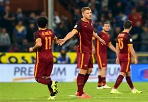 Video/ Roma-Sampdoria (2-1): highlights e gol della partita (Serie A 2015-2016, 24^giornata)