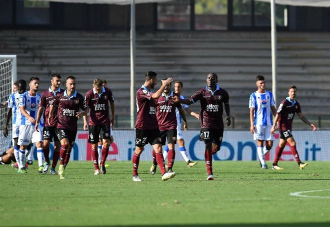 Video Salernitana Pescara, Serie B (Foto LaPresse)