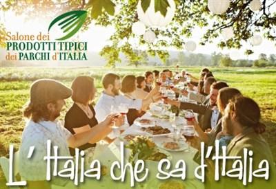 Il primo Salone dei Prodotti tipici dei Parchi d'Italia