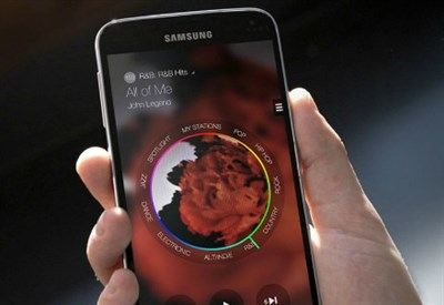 Samsung Milk Music: ecco l'interfaccia