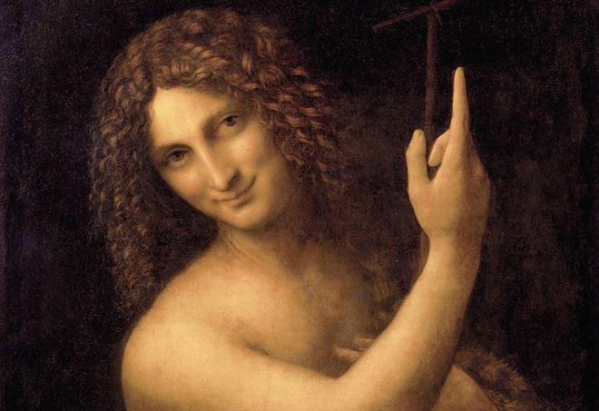 San Giovanni Battista di Leonardo da Vinci