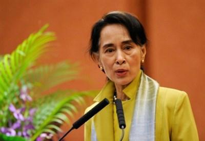 Aung San Suu Kyi (Infophoto)