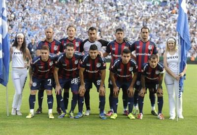 Una formazione del San Lorenzo (Infophoto)