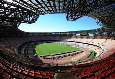 Lo stadio San Paolo di Napoli (Infophoto)