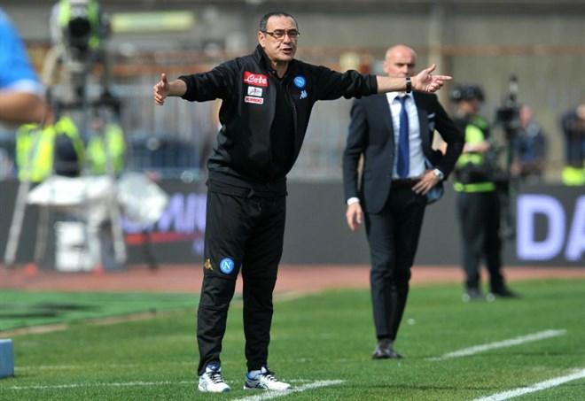 Maurizio Sarri, Napoli - LaPresse