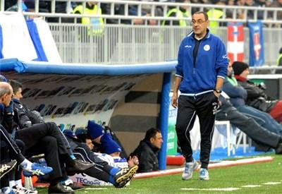 Maurizio Sarri, allenatore dell'Empoli (Infophoto)