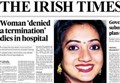 A BIASED ABORTION CAMPAIGN/ Laying Savita to rest