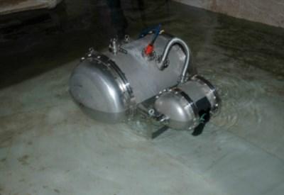 Il laser subacqueo dell'ENEA