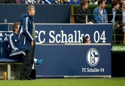 Jens Keller, allenatore dello Schalke 04 (Infophoto)