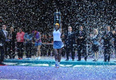 Serena Williams, quarto Master in carriera (Infophoto)