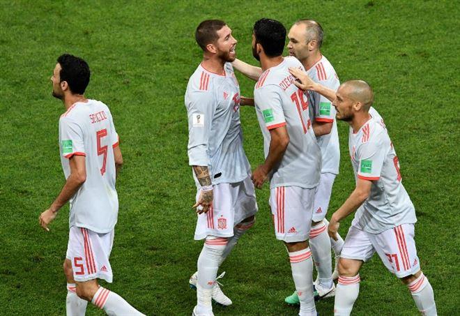 La Spagna cerca la qualificazione agli ottavi dei Mondiali 2018 (Foto LaPresse)