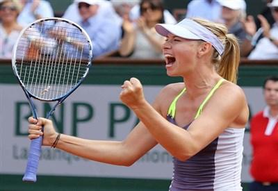 Maria Sharapova, 26 anni, numero 3 del ranking WTA (Infophoto)