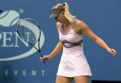 Maria Sharapova, 25 anni (Infophoto)