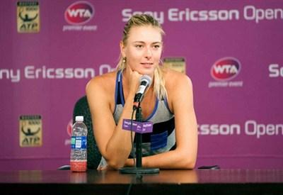 Maria Sharapova, 26 anni, due titoli nel 2013 (Infophoto)