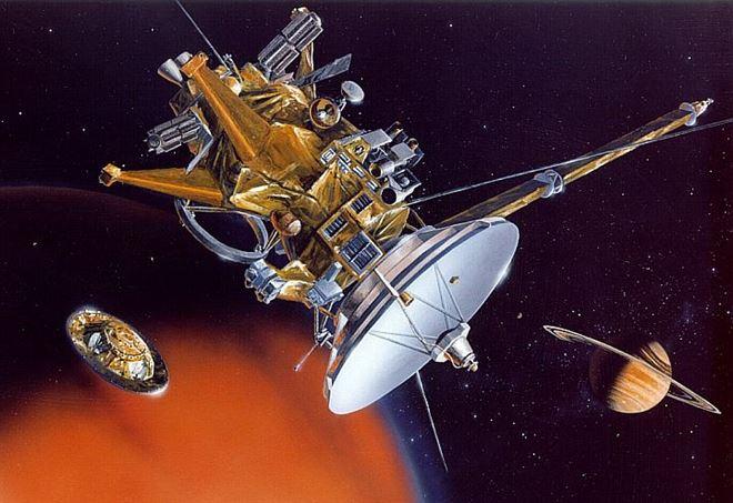La sonda Huygens - Cassini