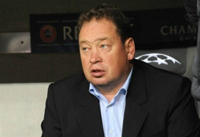 Leonid Slutsky, 44 anni, allenatore del Cska Mosca (Infophoto)