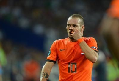 Wesley Sneijder, centrocampista olandese (Infophoto)