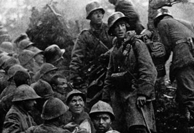 Soldati in trincea