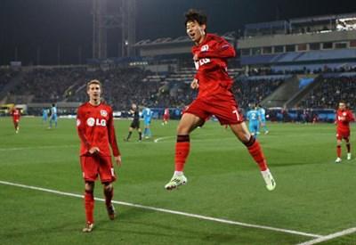 Son Heung-Min, 22 anni, seconda stagione al Bayer Leverkusen