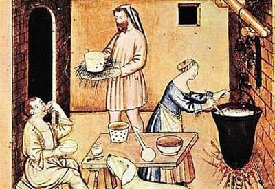 """Le immagini presenti in questo articolo sono tratte da: """"Tacuina Sanitatis - Biblioteca Casanatense codex 4182"""""""