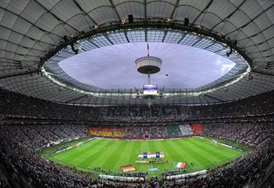 Lo Stadion Narodowy di Varsavia, sede della finale di Europa League (INFOPHOTO)