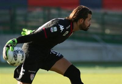Marco Storari, 38 anni, portiere del Cagliari (INFOPHOTO)